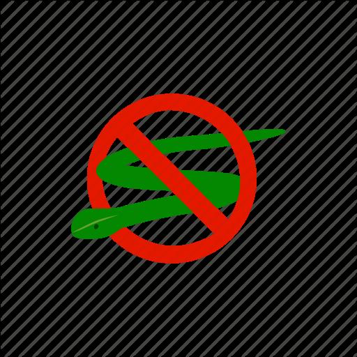 Blog, Danger, Isometric, No, Poison, Snake, Warning Icon