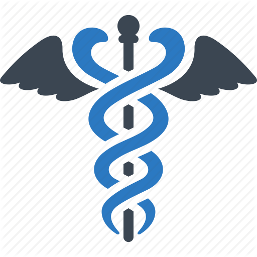 Caduceus, Health Care, Healthcare, Snake Icon