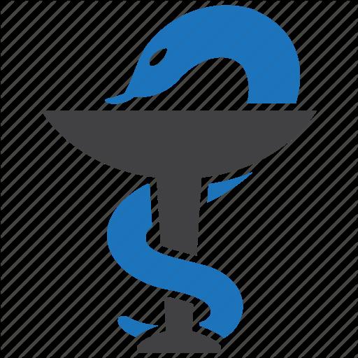 Health Care, Healthcare, Medical, Medicine, Pharmacy, Snake Icon