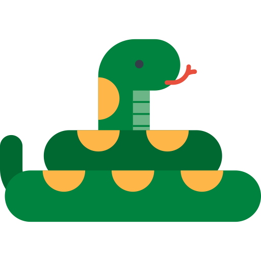 Snake, Coral Snake, Dangerous Icon With Png And Vector Format