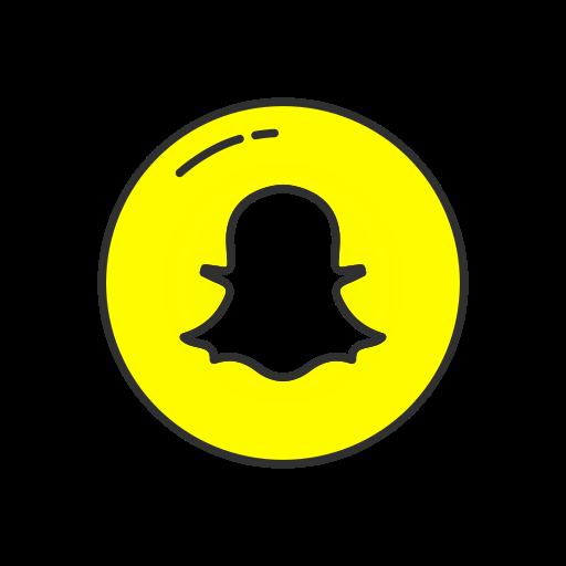 Snapchat, Snapchat Logo, Ghost, Mobile App Icon
