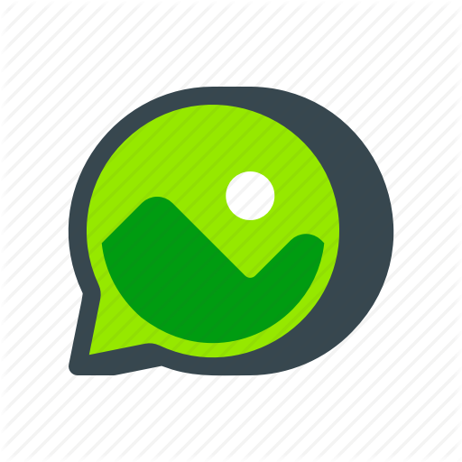Chat, Message, Multimedia, Photo, Picture, Snapchat, Text Icon