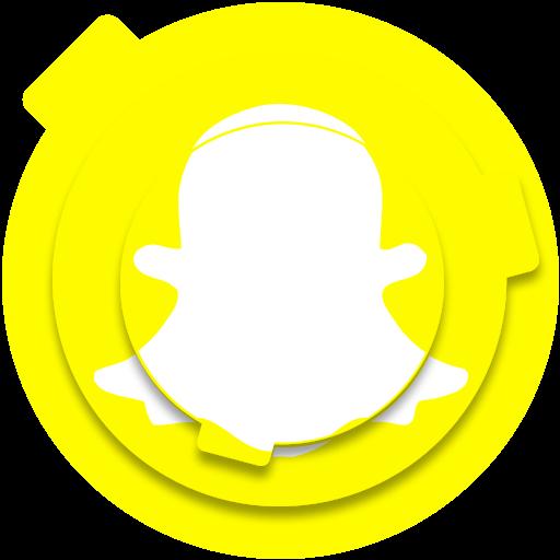 Snapchat Icon Free Of Circle Social Media Pack Icons