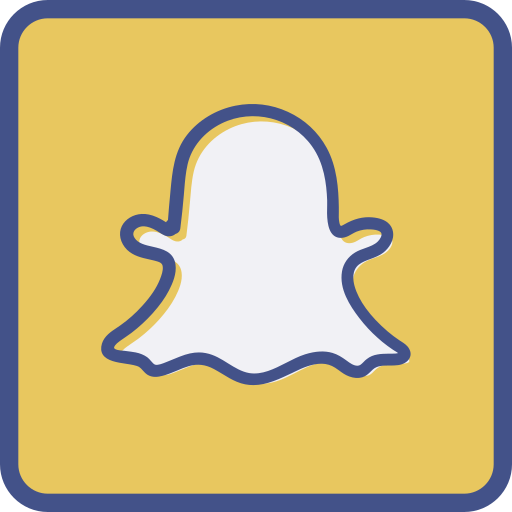 Snapchat Icon Free Of Outline Flat Design Icons