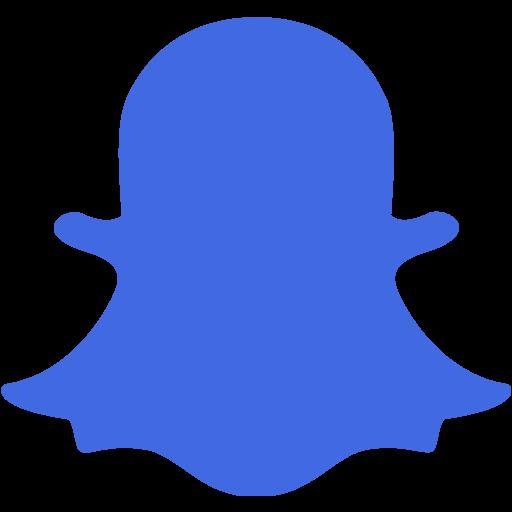 Blue Snapchat Png