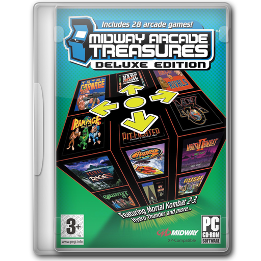 Midway Arcade Treasures Deluxe Edition Icon Game Cover