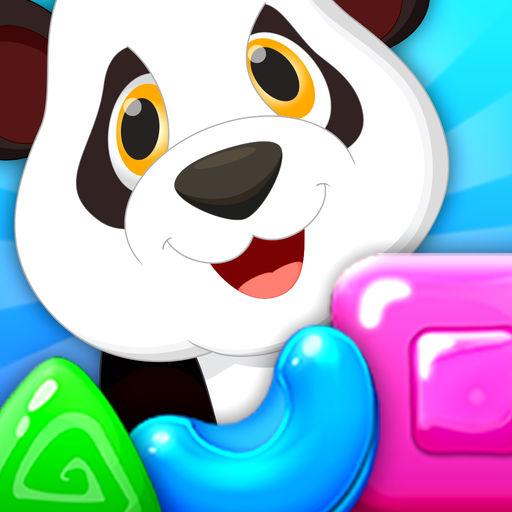 Panda Candy Jam Match