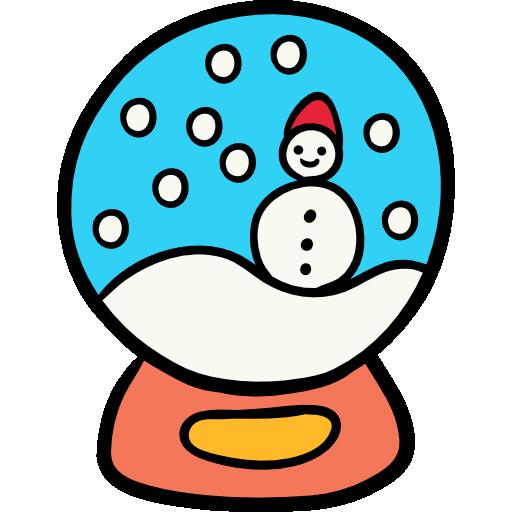 Snow Globe Icon Winter Season Freepik