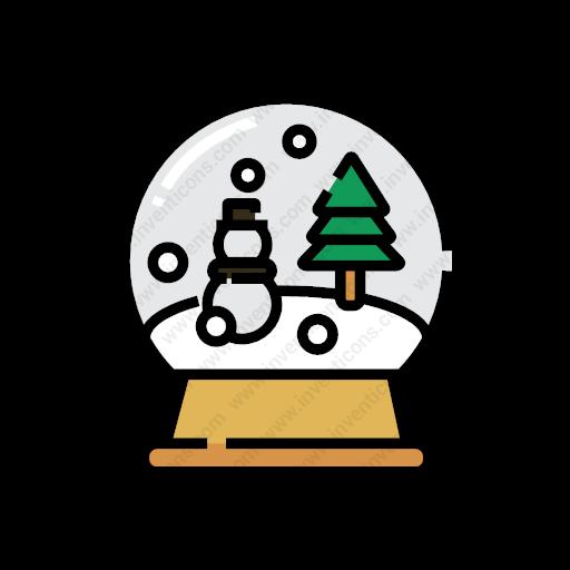 Download Snow,globe Icon Inventicons