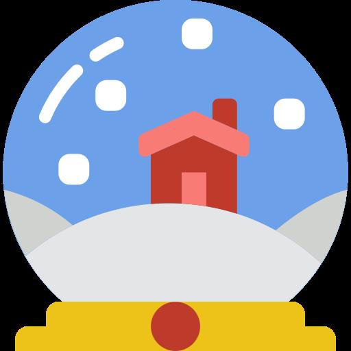 Snow Globe Snow Png Icon