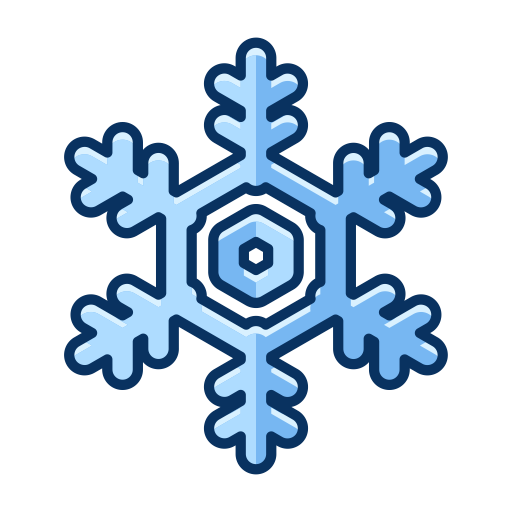 Cold, Snowflake, Weather, Snow, Nature, Winter Icon