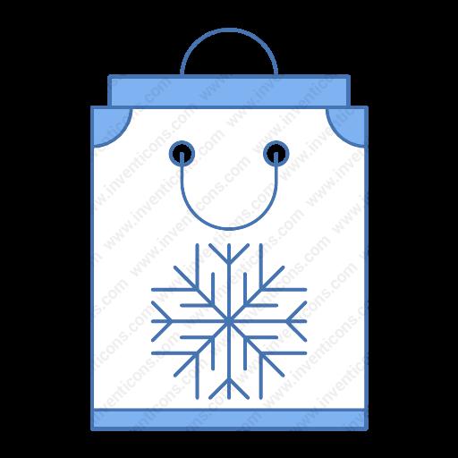 Download Bag,snow Icon Inventicons