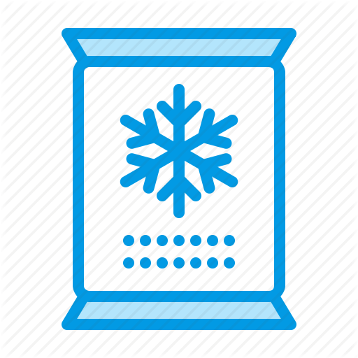 Food, Frozen, Removal, Snow Icon
