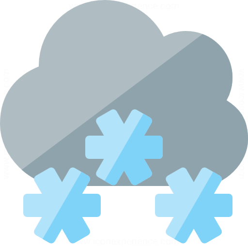 Iconexperience G Collection Cloud Snow Icon
