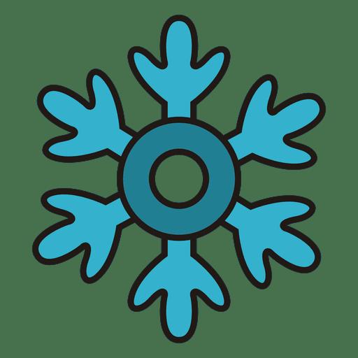 Snowflake Cartoon Icon