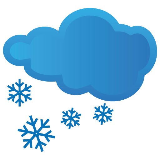 Blue Snow Icon Download Free Icons