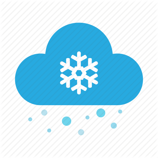 Cloud, Cool, Forecast, Ice, Snow, Weather, Winter Icon