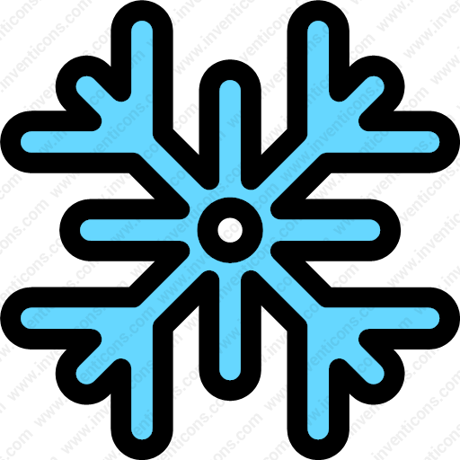 Download Snowflake,snow,cold,winter,weather,nature Icon Inventicons