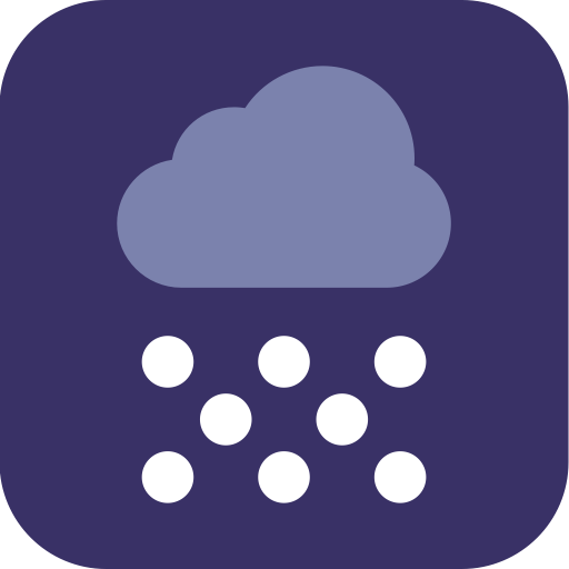 Snow, Weather, Snowing Icon
