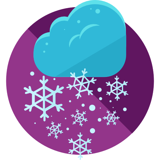 Winter, Cold, Snowflake, Weather, Snow, Nature Icon