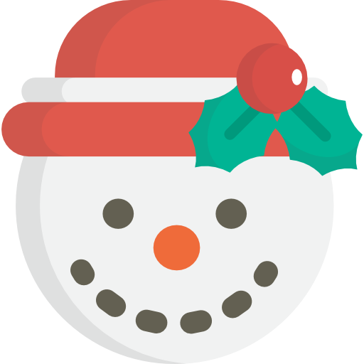 Snow, Christmas, Winter, Snowman, Cold Icon