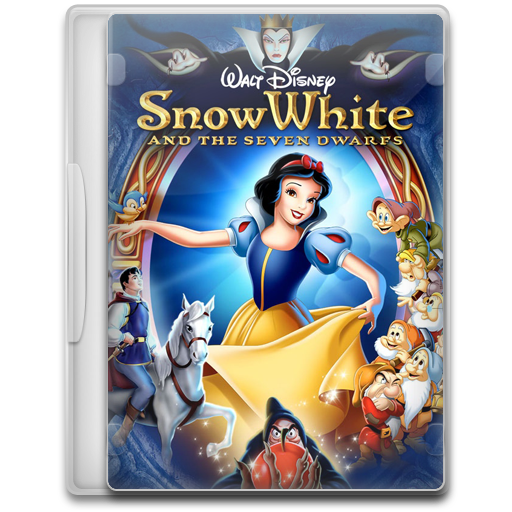 Snow White And The Seven Dwarfs Icon Movie Mega Pack Iconset