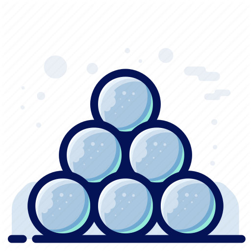 Cold, Ice, Snow, Snowball, Winter Icon
