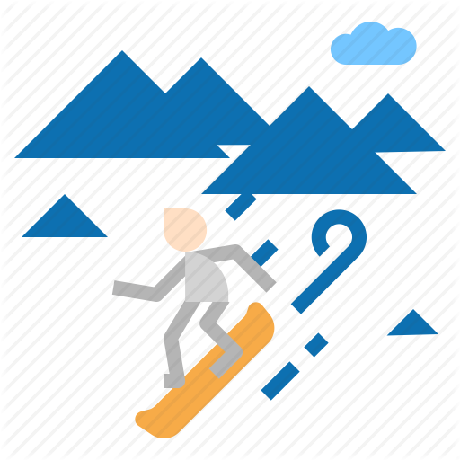 Board, Snow, Snowboard Icon