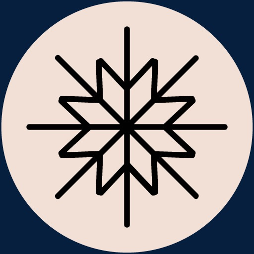 Festive Holiday Background Material,snowflake Icon, Christmas