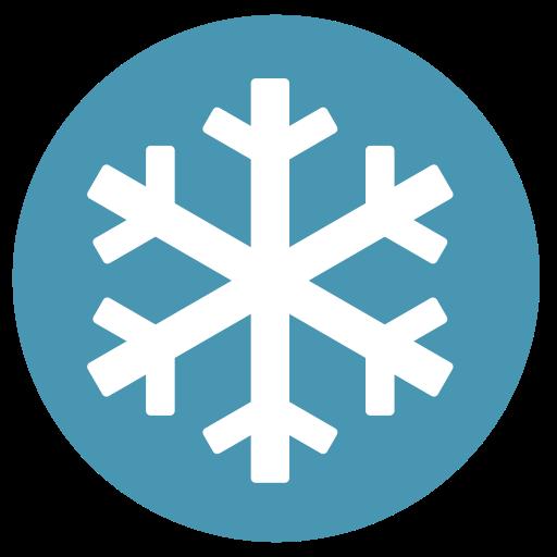 Hibernate, Snowflake Icon Free Of Zafiro Actions