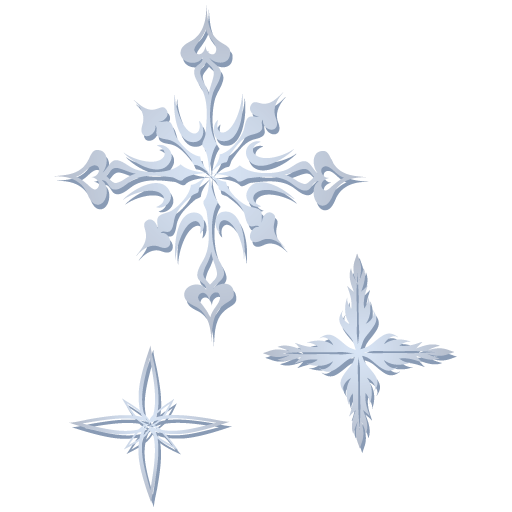 Crystal Snowflake Icon Download Free Icons