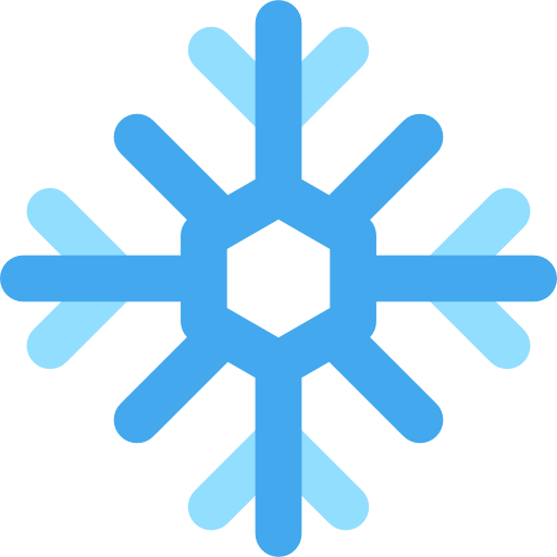 Weather, Snow, Nature, Winter, Cold, Snowflake Icon