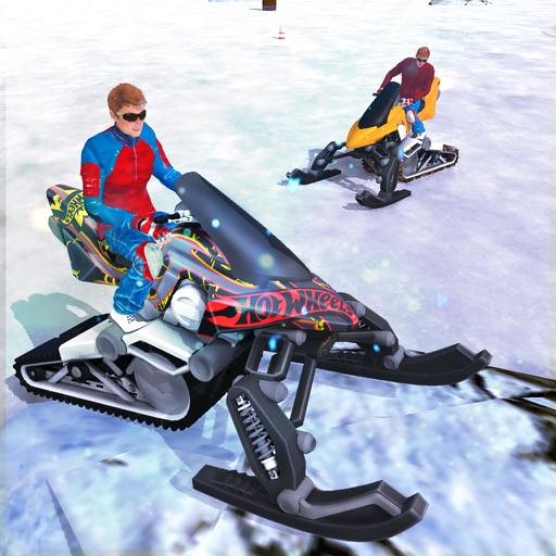 Snowmobile Crazy Crash Derby
