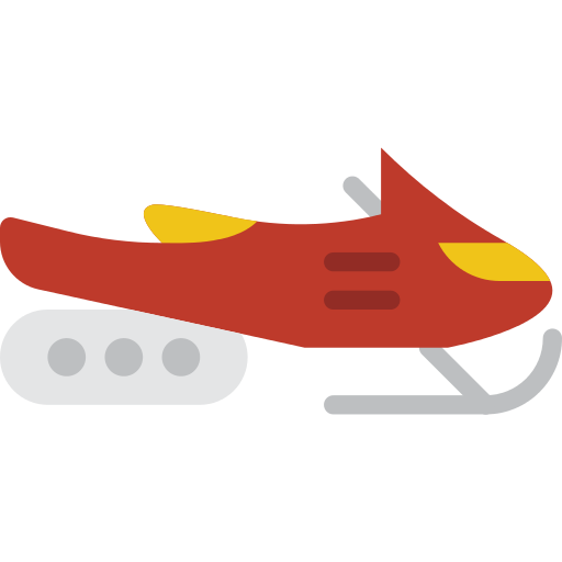 Snowmobile Sled Png Icon