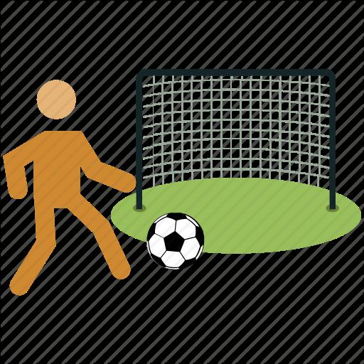 Football, Football Player, Goal, Net, Playing Football, Soccer