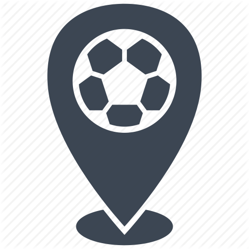 Football, Location, Match, Soccer Icon