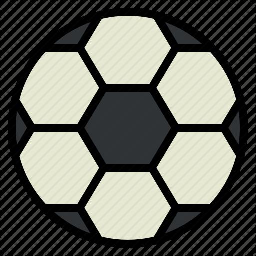 Ball, Football, Outdoor, Recreation, Round, Soccer Icon