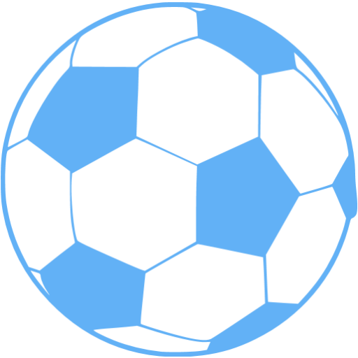 Tropical Blue Soccer Icon