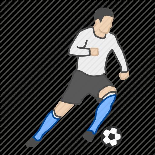 Football, Fussball, Futball, Player, Soccer, Soccer Player, Sport Icon