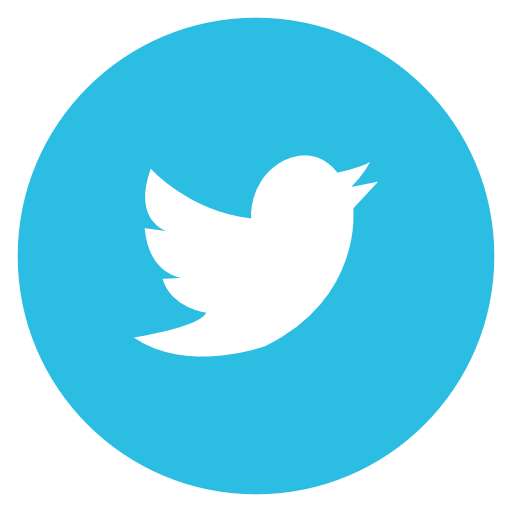 Round Twitter Logo Png Images