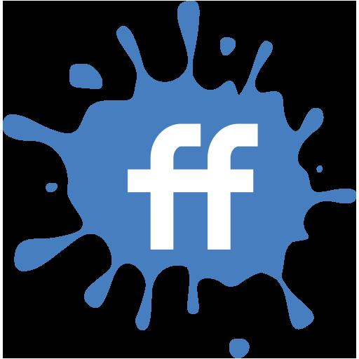 Social Media Icons Blot Icons Set Fiendfeed Icons