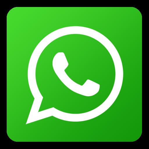 Icono Whatsapp,red Social De Flat Gradient Social Icons