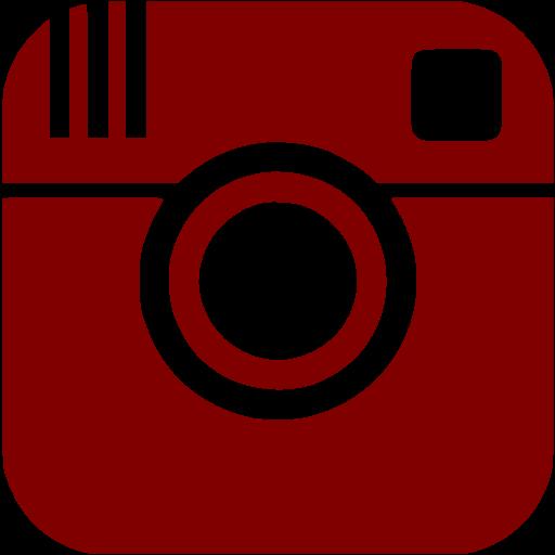 Maroon Instagram Icon