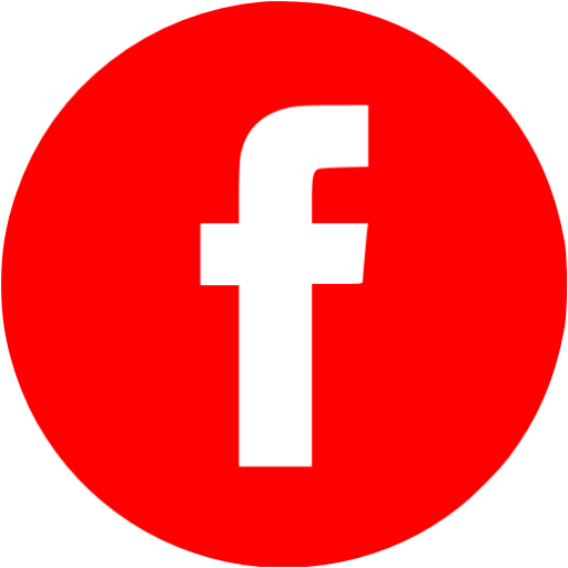 Red Facebook Icon Free Social Icons Logo Image