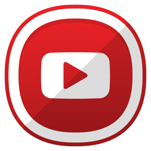 Youtube, Social Network Icon Free Of Free Cute Shaded Social Icons