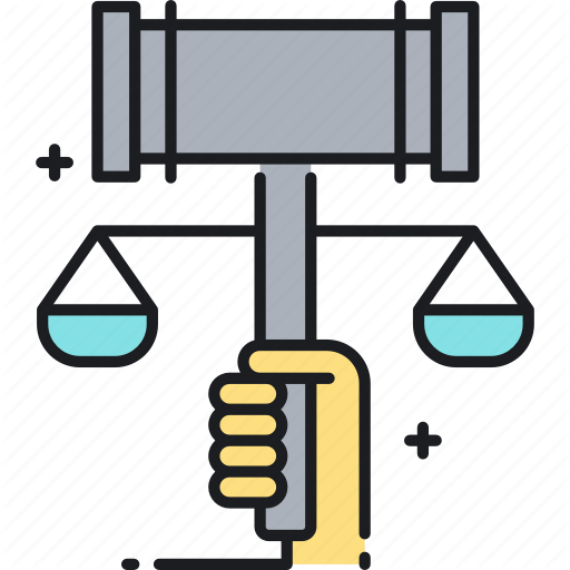 Balance, Gavel, Justice, Law, Legal, Social, Social Justice Icon