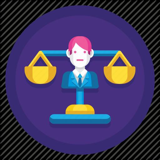 Fairness, Justice, Law, Legal, Regulation, Social, Social Justice Icon