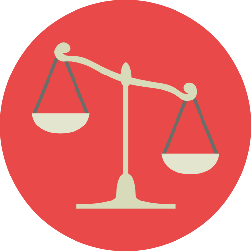 Miscellaneous, Law, Judge, Balance, Justice, Justice Scale Icon