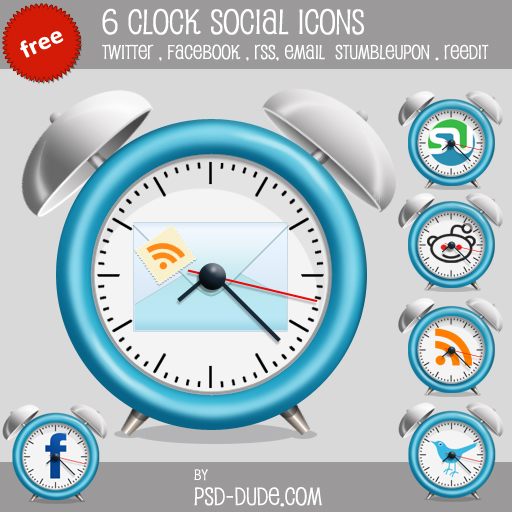 Fresh Free Social Media Icon Sets Designbump