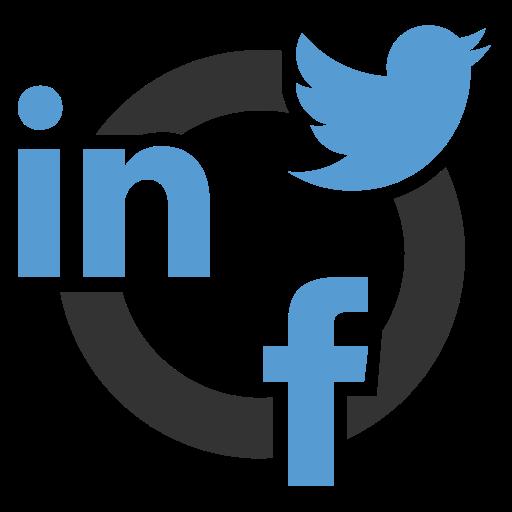 Flat Social Media Icons Transparent Png Clipart Free Download